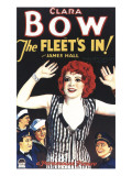 The Fleet's In, Clara Bow, Jack Oakie, James Hall, 1928