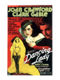 Dancing Lady, Joan Crawford, Clark Gable, 1933