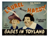 Babes in Toyland,From Left, Stan Laurel, Oliver Hardy, 1934