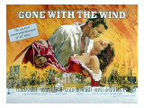 Gone with the Wind, Clark Gable, Vivien Leigh, 1939,