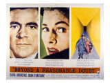 Beyond a Reasonable Doubt, Dana Andrews, Joan Fontaine, 1956