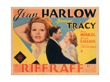 Riffraff, Jean Harlow, Spencer Tracy, 1936