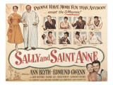 Sally and Saint Anne, with Ann Blyth, Edmund Gwenn, John Mcintire, and Frances Bavier, 1952