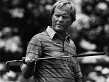 Golf Pro Jack Nicklaus, August, 1984 Premium Poster