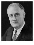 Franklin D. Roosevelt, Head-And-Shoulders Portrait, 1930