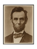 Abraham Lincoln in the Classic Portrait by Alexander Gardner of November 15, 1863