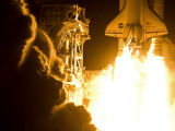 The space shuttle Discovery launches on its 33rd mission