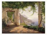Amalfi Cappuccini Giclee Print
