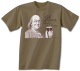 Ben Franklin Beer Tee