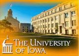 University of Iowa-Jessup Hall & Old Capi