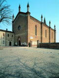 Church of Santa Maria Degli Angeli Photographic Print