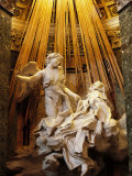 Rome, Church of Santa Maria Della Vittoria: Ecstasy of St Theresa