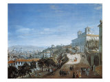 Panoramic View of Rome from Villa Medici