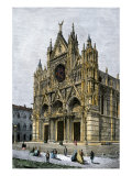 Buy Cathedral of Siena, Italy, 1800s at AllPosters.com