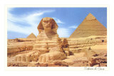 Sphinx and Pyramid, Egypt