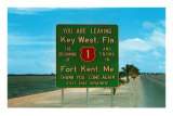 Highway 1, Key West, Florida