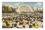 Band Shell, Grant Park, Chicago, Illinois