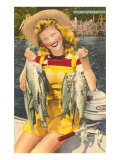 Buy Lady with Bass, Florida at AllPosters.com