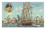 Gasparilla Entering Harbor, Tampa, Florida
