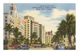 Collins Avenue, Miami Beach, Florida