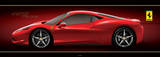 Ferrari - 458 Italia Door Poster