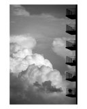 Balconies In The Sky Photographic Print