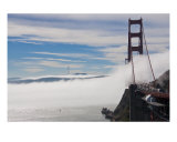 The Fog Be Tick on the Golden Gate Bridge