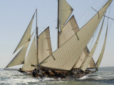 Mariquita under Sail, Solent Race, British Classic Yacht Club Regatta, Cowes Classic Week, 2008
