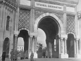 Magnificent Arches to the Entrance of the University of Istanbul