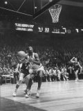 Univ. of Cincinnati Team Captain, Oscar Robertson During Game with Iowa University