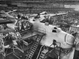 Men Working on Martin Patrol Bomber at Glenn Martin Plant
