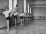 Ballet Class for Youngsters Who Aspire to Roles in the Corps De Ballet of the Vienna Opera House