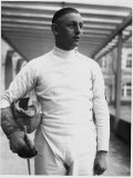 Erwin Casmir, One of Germany's Best Fencers, and Possible Canidate for the Olympic Games