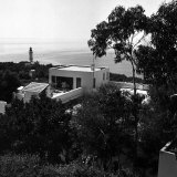 Overhead View of Author W. Somerset Maugham's Villa Mauresque