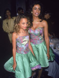 Brenda Richie and Daughter Nicole Richie