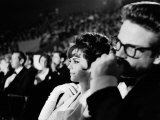 Actors Natalie Wood and Warren Beatty Attending the Academy Awards