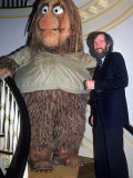 Muppets Creator Jim Henson with One of His Characters, Grog