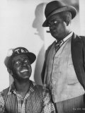 Actors Freeman Gosden and Charles Correll in Blackface as Radio Characters Amos 'N Andy