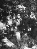 Biologist Author Rachel Carson with Fellow Naturalists on Nature Walk