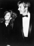 Actor Dennis Quaid with Actress Meg Ryan at American Film Institute Life Achievement Awards