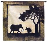 Serengeti Elephants Wall Tapestry