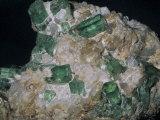 Beryl Crystals, a Variation of Emerald, Muzo Mine, Boyaca, Colombia, South America