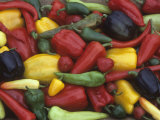 A Variety of Heirloom Sweet Peppers