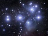 Messier 45, the Pleiades or Seven Sisters