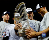 Andy Pettitte, Jorge Posada, Derek Jeter, & Mariano Rivera Game Six of the 2009 MLB World Series
