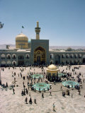Shrine of Imam Reza, Mashad, Iran, Middle East