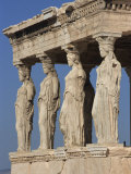 Caryatid Portico, Erechthion, Acropolis, UNESCO World Heritage Site, Athens, Greece, Europe