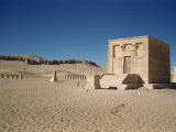Temple at Tuna El-Gebel, Near Ashmunen, Egypt, North Africa, Africa