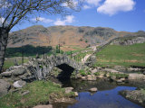 Slaters Bridge, Little Langdale, Lake District, Cumbria, England, United Kingdom, Europe