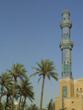 Exterior of the Minaret of the July 14th Mosque, Islamic Architecture, Baghdad, Iraq, Middle East